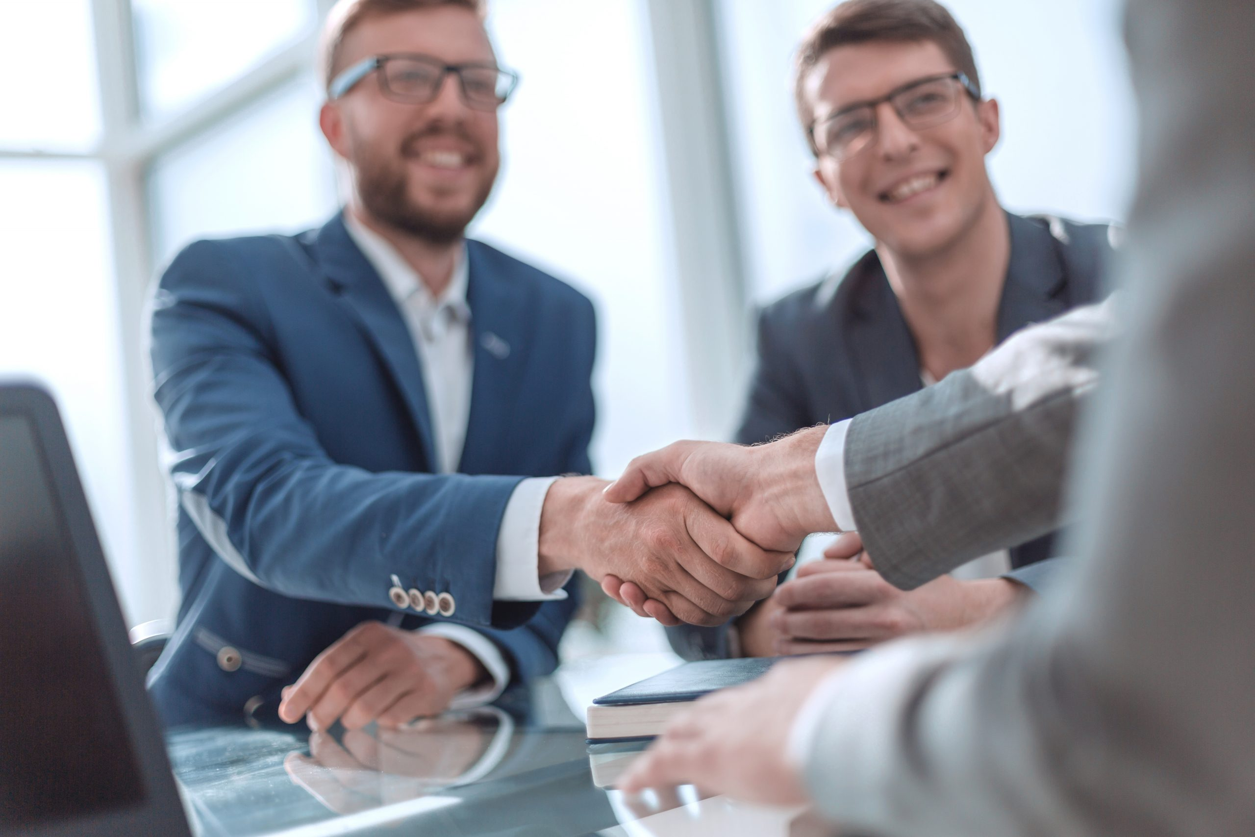 PEP Vision closing a deal with a broker